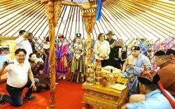 """Монгол Улс """"ФЭСПО"""" аялал жуулчлалын үзэсгэлэнд оролцож байна"""