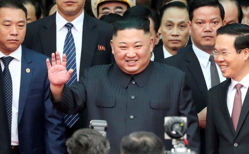 Ким Жон Ун Вьетнамд иржээ