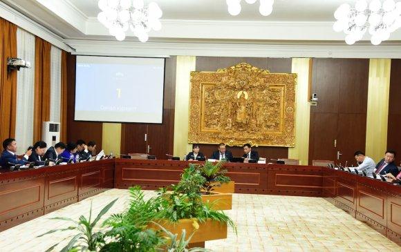 ТБХ: Төсвийн тогтвортой байдлын зөвлөлийн гишүүд, даргыг томилох асуудлыг хэлэлцэн баталжээ