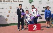 Монголын баг мөнгөн медаль хүртэв