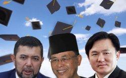 Малайзын улстөрчид хуурамч дипломтой байжээ