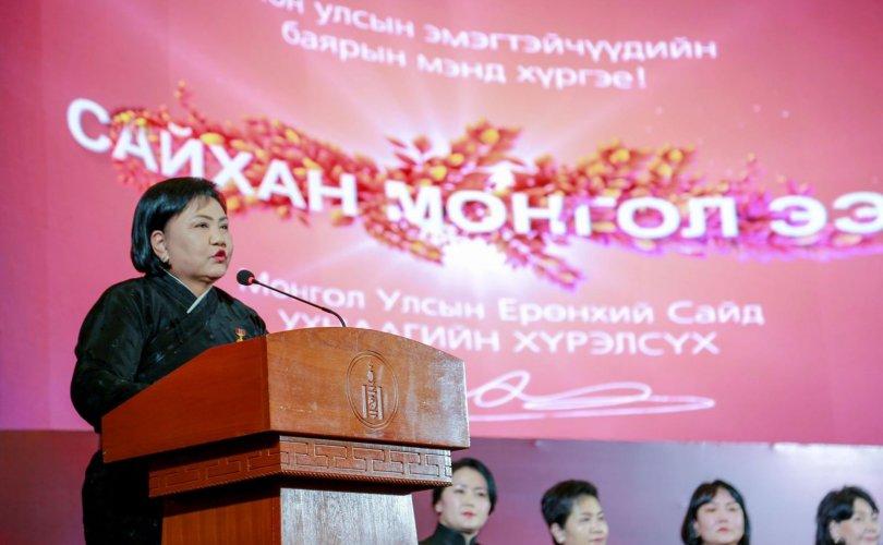 Д.Оюунхорол: 83,3 мянган ээжийг Монголын төр хэлмэгдүүлсэн