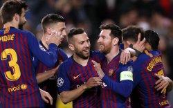 Барселона клуб 12 жил дараалан дунд шөвөгт шалгарлаа