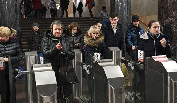 Москва хотын метронд банкны картаар үйлчлүүлж болно