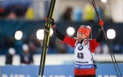 Анастасия Кузмина ДАШТ-ээс анхны алтан медалиа хүртэв