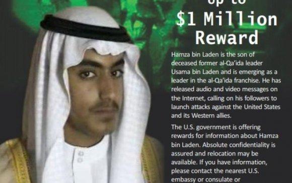 Осама Бин Ладены хүүгийн тухай мэдээллийг нэг сая ам.доллараар үнэлэв