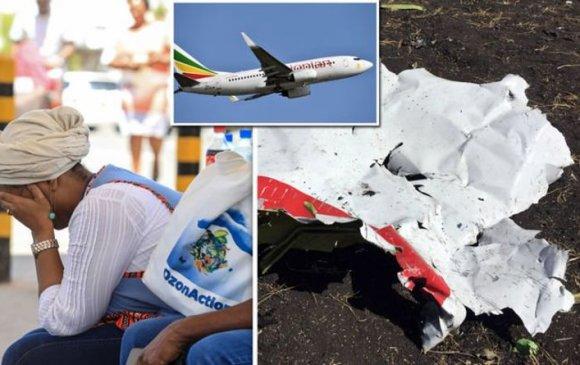 """Этиопын """"Boeing 737"""" онгоцны ослоос нэг ч хүн амьд үлдсэнгүй"""