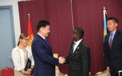 У.Хүрэлсүх Өмнөд Судан Улсын дэд Ерөнхийлөгчтэй уулзав
