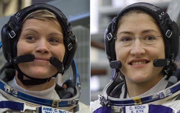 NASA эмэгтэй нисгэгчдийн багаа илгээхээ түр хойшлуулав