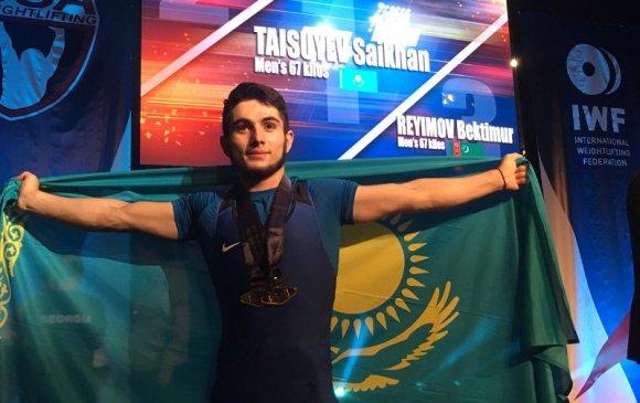 Казахстаны Т.Сайхан дэлхийн аварга болжээ