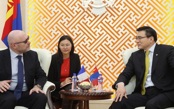 Бүгд Найрамдах Франц Улсаас Монгол Улсад суугаа Элчин сайдыг хүлээн авч уулзлаа