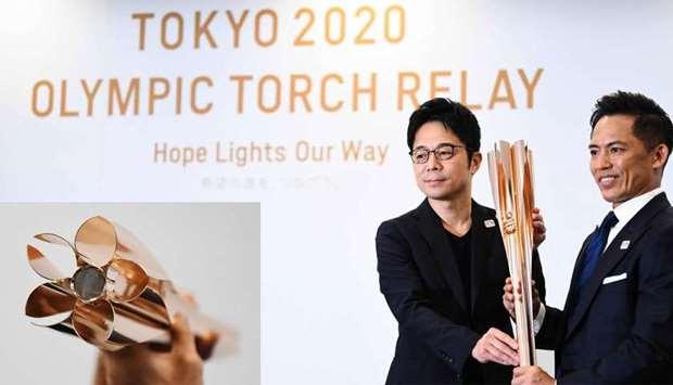 Токио 2020 олимпийн наадмын бамбарыг танилцууллаа