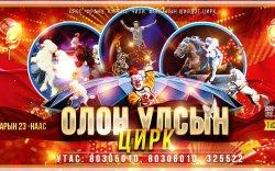 Олон улсын циркийн тоглолтын эхний өдрүүдийн тасалбар дуусчээ