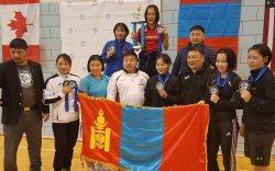 Эмэгтэй бөхчүүд Сэм авгаас зургаан медаль хүртэв