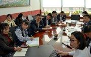 Дархан-Уул аймгийн ЗДТГ, Захирагчийн ажлын албаны төлөөлөгчид зочиллоо