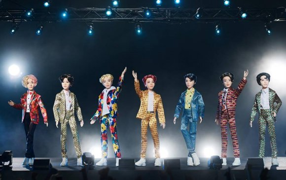 BTS хамтлагийн хүүхэлдэйн хувилбарыг танилцууллаа