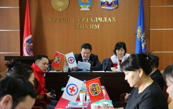 Улаан загалмайн хорооны удирдах зөвлөлийн 2019 оны анхдугаар хуралдаан боллоо