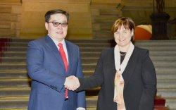Г.Занданшатар Швейцарийн Элчин сайдын яамыг Монгол Улсад нээх санал дэвшүүллээ