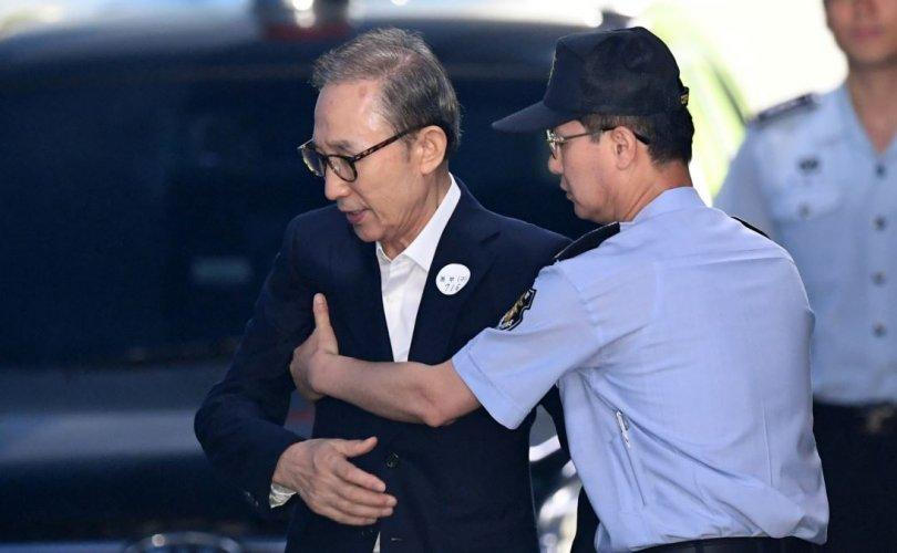 Өмнөд Солонгосын экс Ерөнхийлөгч батлан даалтаар суллагдлаа