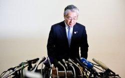 Японы Олимпийн хорооны ерөнхийлөгч огцрохоо мэдэгдлээ