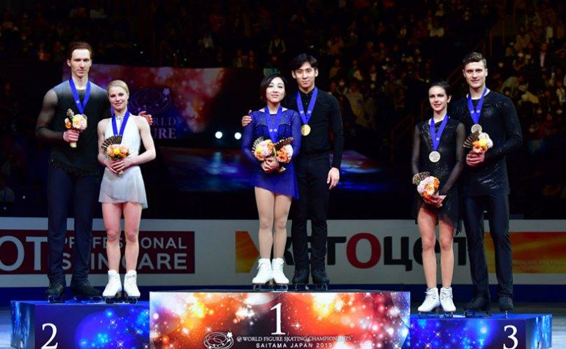 Суй Венжин, Хан Цон нар дэлхийн хошой аварга болов