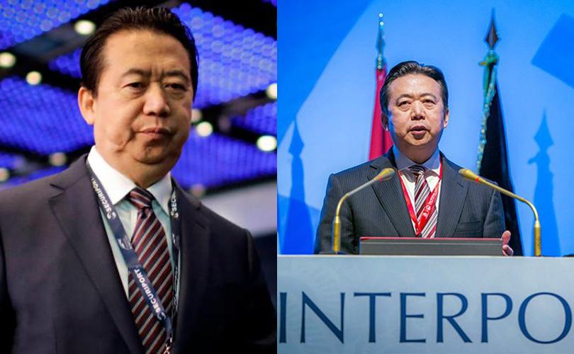 Хятад улс интерполын экс ерөнхийлөгчид ял онооно