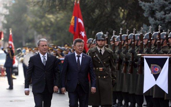 Батлан хамгаалахын сайд Н.Энхболд Турк улсад айлчлав