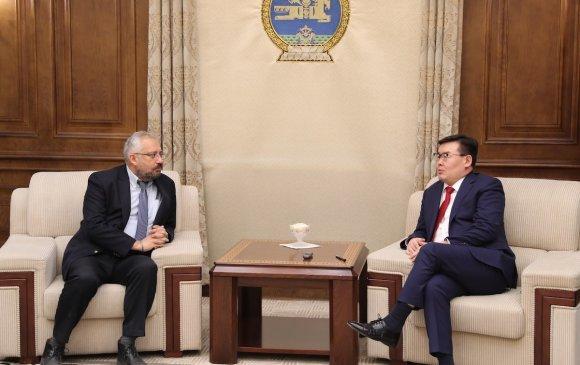 ОУВС-гийн Монгол Улс дахь суурин төлөөлөгчийг хүлээн авч уулзлаа