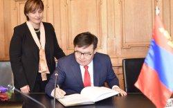 Г.Занданшатарын Швейцарийн Холбооны Улсад хийсэн албан ёсны айлчлал өндөрлөлөө