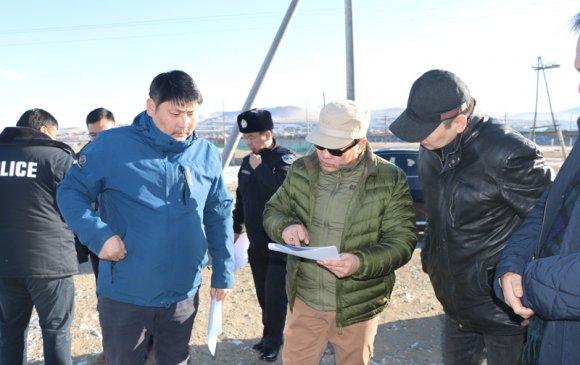Б.Энх-Амгалан сайд Улаанбаатар-Дарханы замд ажиллалаа