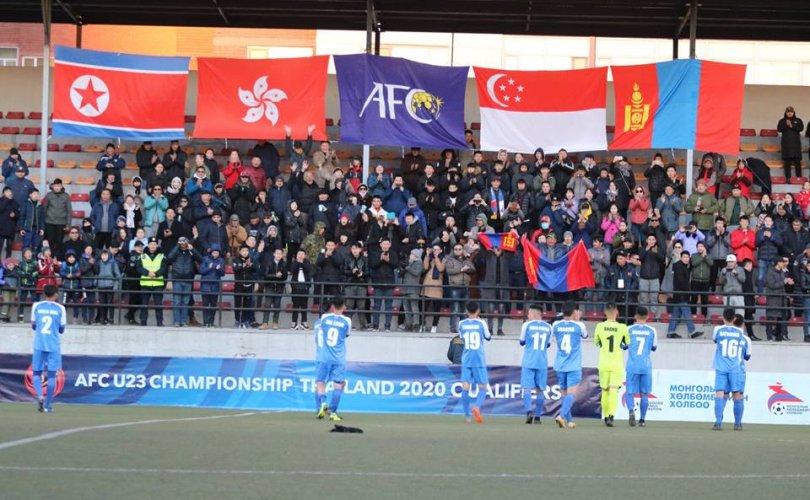Монгол, БНАСАУ-ын тоглолт зочин багийн хожлоор өндөрлөв