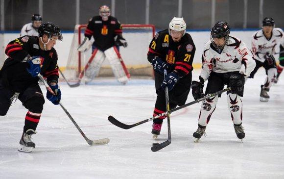 Монголын хоккейчид Сингапурыг хожив