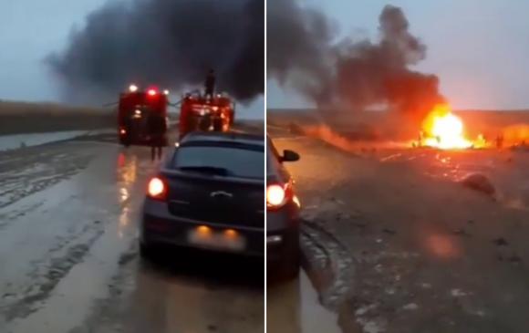 Казахстанд нисдэг тэрэг сүйрч, 13 цэргийн албан хаагч амиа алдав