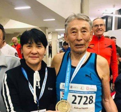 85 настай Ц.Раднаа дэлхийн аварга болов