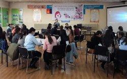 18, 36 сартай хүүхдийн эрүүл мэнд, хөгжлийн цогц үзлэгийн мэдлэг олгох сургалт боллоо