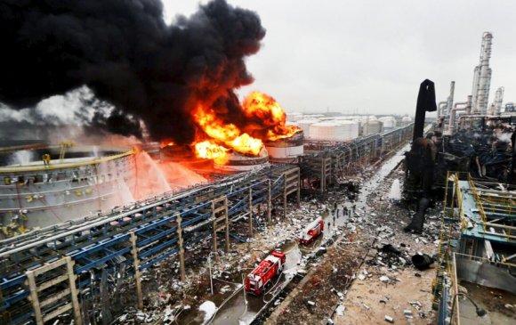 Хятадад химийн үйлдвэр дэлбэрч, 44 хүн амиа алдлаа