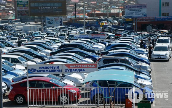 Автомашины импорт өсчээ