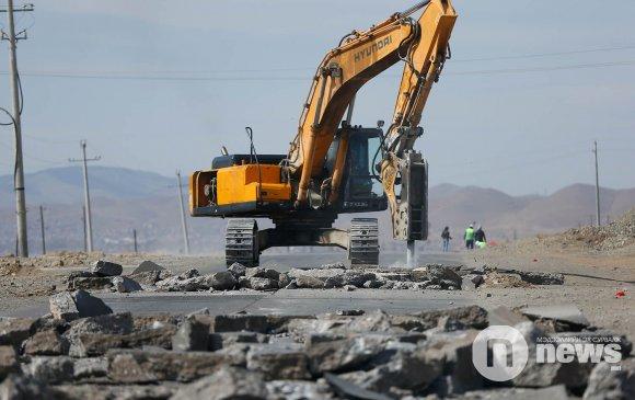 Там болсон Налайхын замыг хятадууд зам болгоно