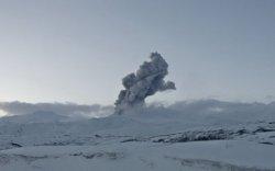 Курилын арлын Эбеко галт уул идэвхжив
