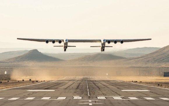 Дэлхийн хамгийн том нисэх онгоц туршилтын нислэг үйлдэв