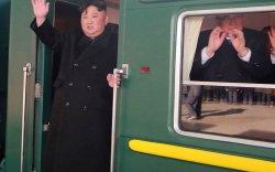 Ким Жон Ун хуягт галт тэргээрээ ОХУ-д очно