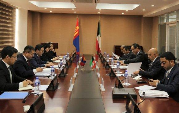 Монгол, Кувейтийн Гадаад хэргийн яамд хоорондын зөвлөлдөх уулзалт болов