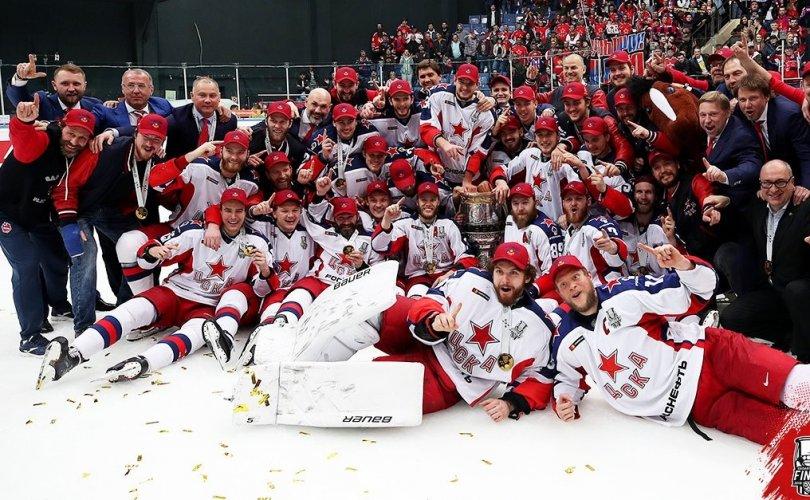 ЦСКА Москва баг Гагарины цомыг хүртэв