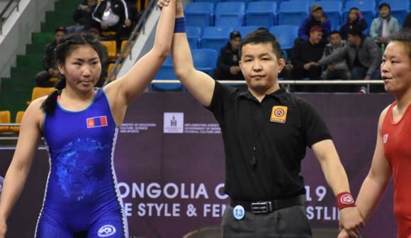 """Х.Болортуяа """"Mongolia Open""""-аас мөнгөн медаль хүртлээ"""