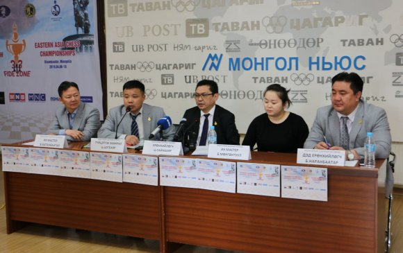Ази тивийн бүсийн аварга шалгаруулах шатрын тэмцээнийг УБ хотноо зохион байгуулна