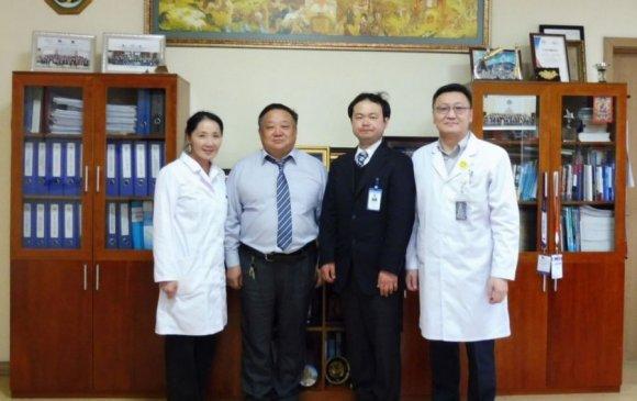 Япон сувилагч Улсын гуравдугаар төв эмнэлэгт ажиллахаар иржээ