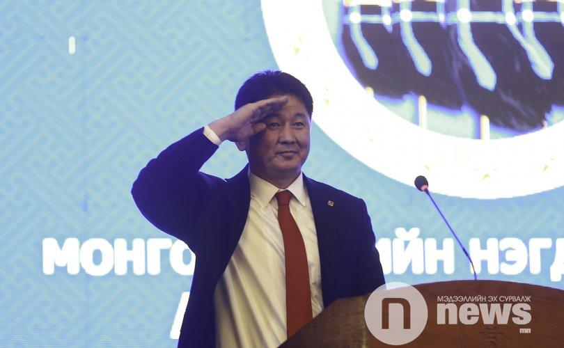 Монгол цэргийн нэгдсэн холбооны тэргүүнээр У.Хүрэлсүх сонгогдлоо