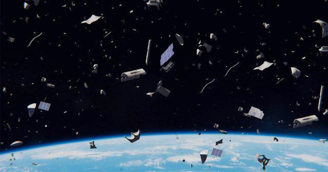 Энэтхэгийн хиймэл дагуулын хэлтэрхий сансарт хог болж байна