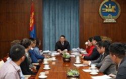 Ерөнхийлөгч Юникод консорциумын удирдлагуудыг хүлээн авч уулзав