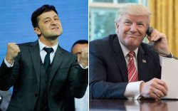 Трамп Зеленськийд баяр хүргэж, утсаар ярьжээ